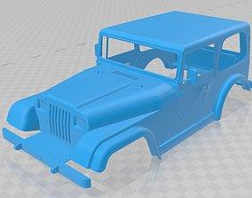 Jeep Wrangler 1988 Printable Body Car