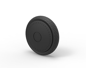 Diecast Car wheel 3 3D printable model