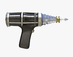 3D asset C-57D BLASTER RAYGUN