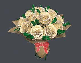 PBR Bouquet 3d model