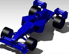 f1 car 3D print model