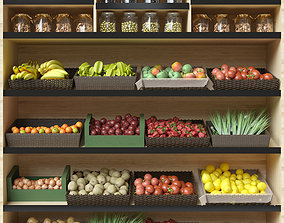 Fruit Shelf 2 3D