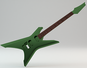 CNC Ready Ibanez Xiphos XPT700 Electric 3D printable model