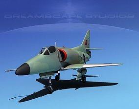 Douglas A-4D Skyhawk V15 RNZN 3D