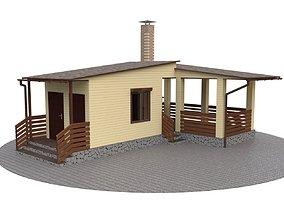 3D Outdoor gazebo