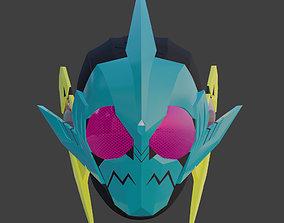 Kamen Rider Zero one Biting Shark Mask 3D print model