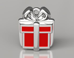 Sweet box enamel pendant 3D printable model