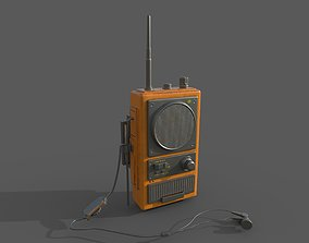 radio wakitaki 3D asset