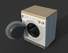 Washer 3D model game-ready
