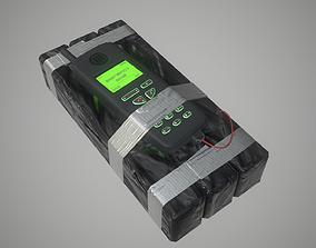 C4 Bomb - PBR game ready 3D asset
