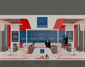 3D model other Exhibition stall