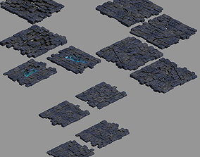 3D Real Palace-Lower Terrain 02