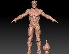 GREEN LANTERN cosplay 3D