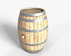 beer 3D Wooden barrel