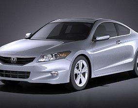 3D model Honda Accord 2012 coupe VRAY