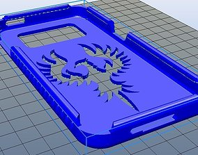 Samsung Galaxy j3 smartphone case No 1 3D printable model