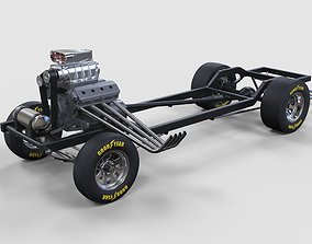 Chassis of Gasser 3D model