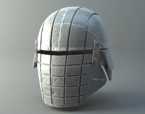 3D printable model Damaged Rogue helmet - Knights of Ren 3