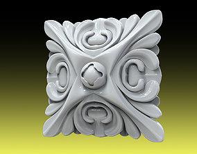 3D printable model Rozette 008