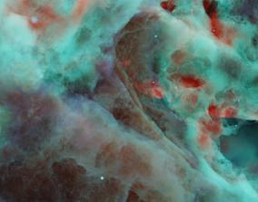 nebula galaxy 3D model sci-fi