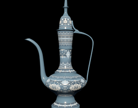VR / AR ready traditional 3d model of nomad Jug