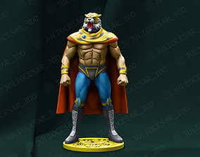 art 3D print model Tiger mask