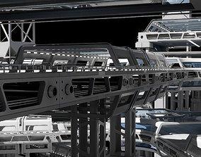 3D Sci Fi Structure Kit 71