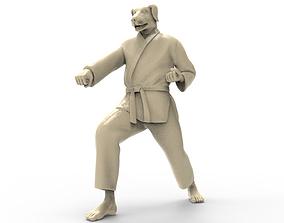 Dog Zenkutsu Dachi Stance 3D print model