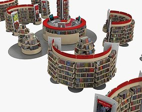 3D Bookstore