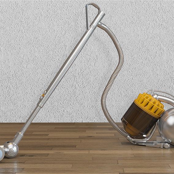 Realistic Vacuum Cleaner 3d Model