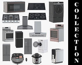 3D Home Appliances 16 Models