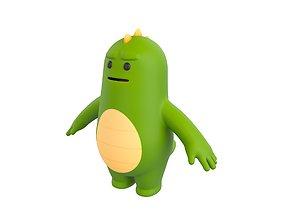 3D model Character115 Monster