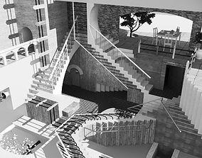 3D Relativity MC Escher