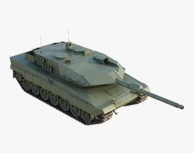 Tank Leopard 2 panzer 3D model