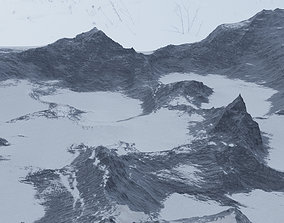 SnowMountain 3D model