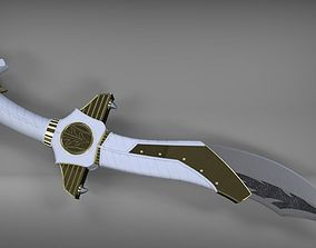 3D printable model Power Rangers Legacy Saba Sword