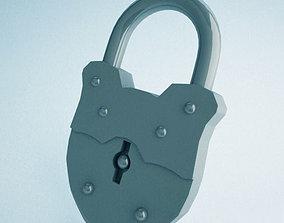 3D Old Lock