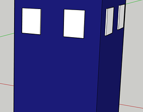 3D print model Doctor Who Tardis