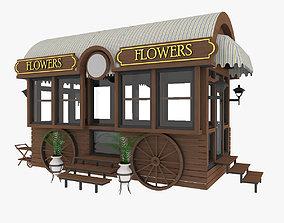3D Mobile Trade Pavilion Shop