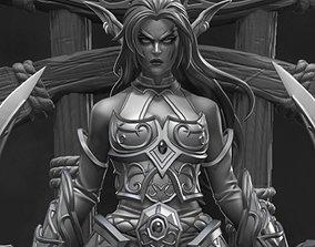 3D print model Tyrande Whisperwind - World of Warcraft