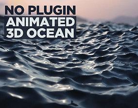 ripple animated No plugin animated 3d ocean