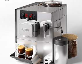 Bosch TES 80521 RW Coffee Machine 3D model