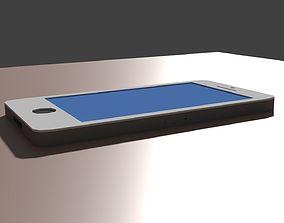 Low Poly iPhone 3D asset
