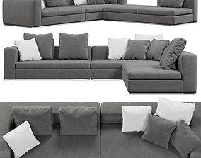 3D model Giulio Marelli sofa