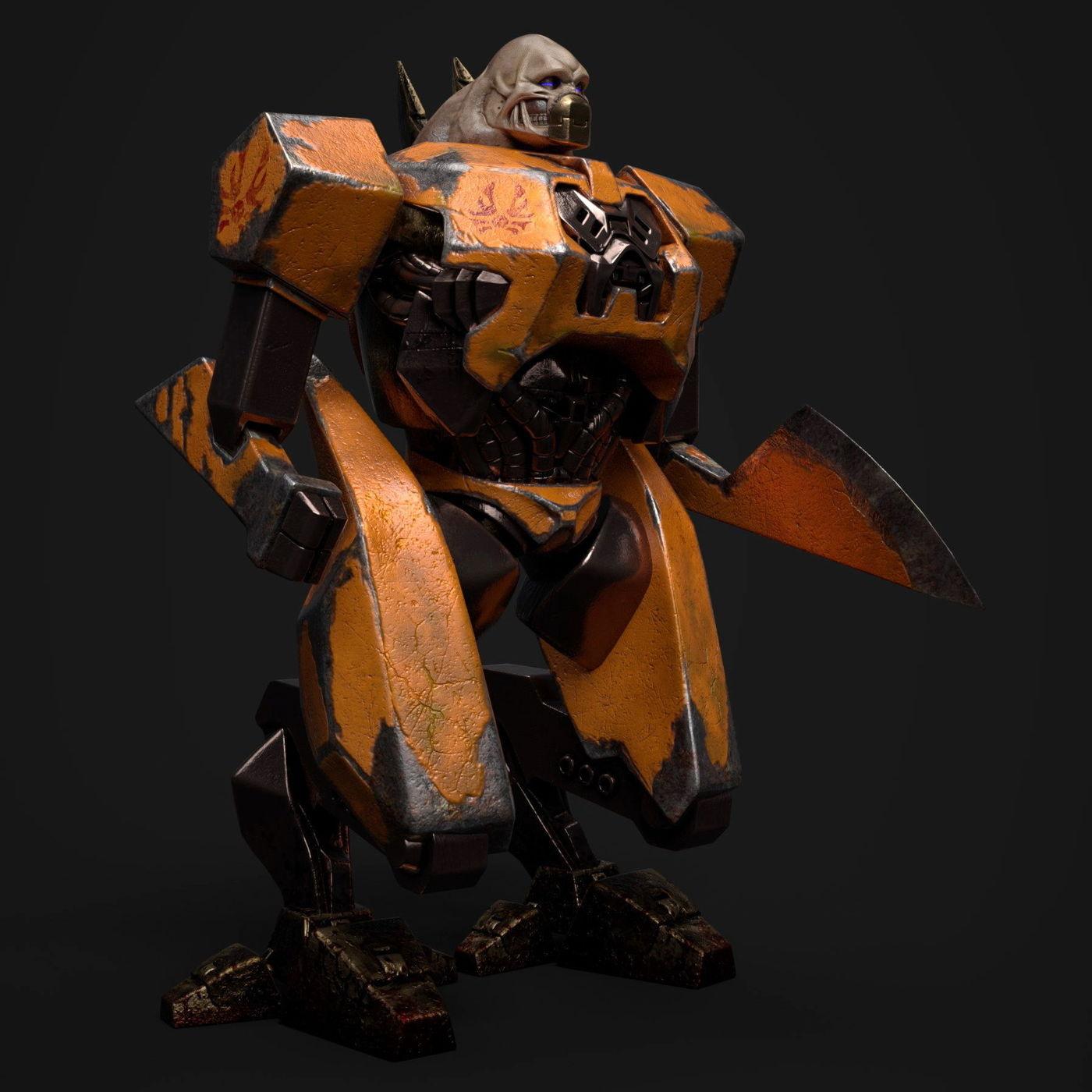 Tankjr remake from Quake 3 Arena | CGTrader