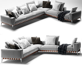 3D Flexform Gregory corner sofa