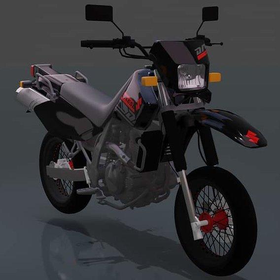Suzuki DR 650 SUPERMOTARD