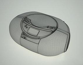 Sony boombox 3D