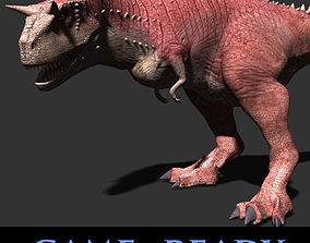 Carnotaur Resurrection - Game ready 3d model animated