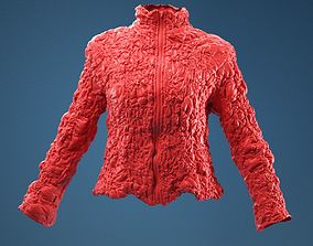 Intricate Decorated Jacket 3D model